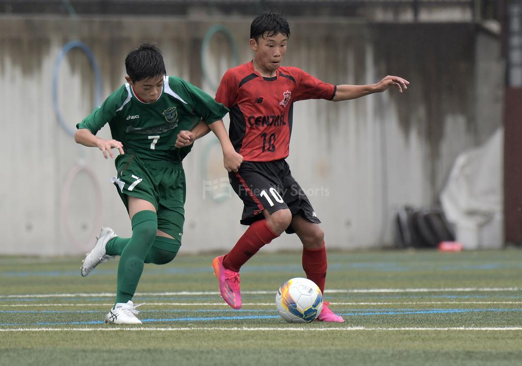 セントラル vs J FIELD津山 クラブユース選手権 U-15(中国大会)