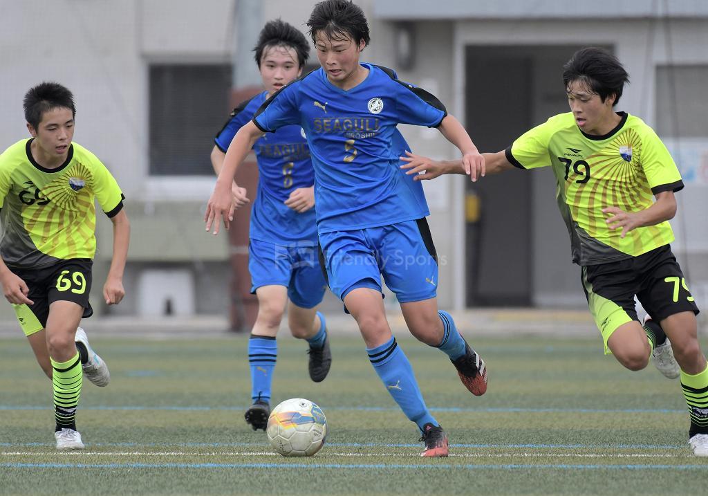 シーガル広島 vs プラシア クラブユース選手権 U-15(中国大会)