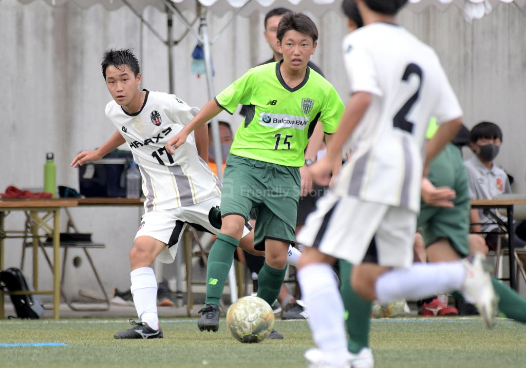 ハジャス vs CAVATINA クラブユース選手権 U-15(中国大会)