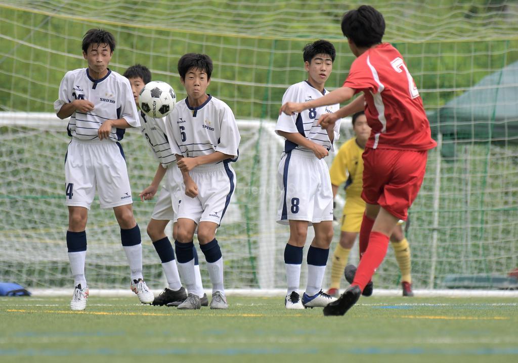 修道中 vs 向丘中 (1回戦)広島県中学校サッカー選手権