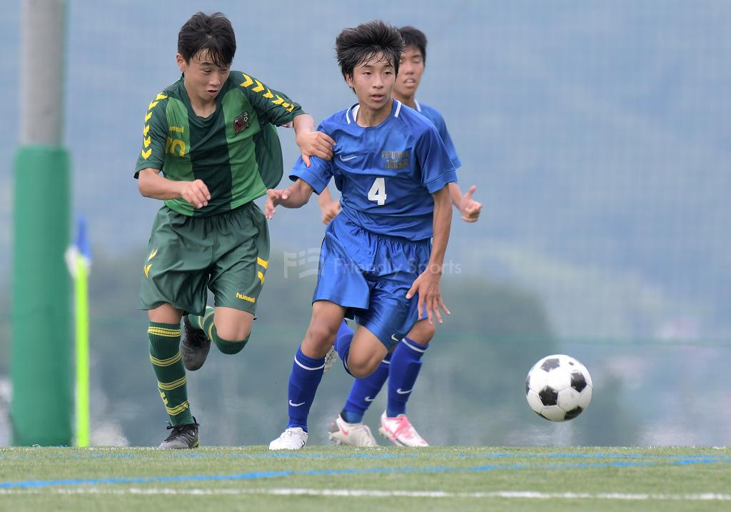 福山城南中 vs 府中緑ヶ丘中 (1回戦)広島県中学校サッカー選手権