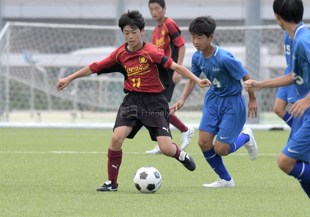 野坂中 vs 坂中 (2回戦)広島県中学校サッカー選手権
