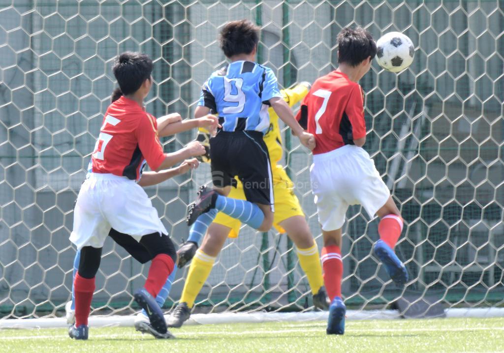 城北中 vs 宇品中 (2回戦)広島県中学校サッカー選手権