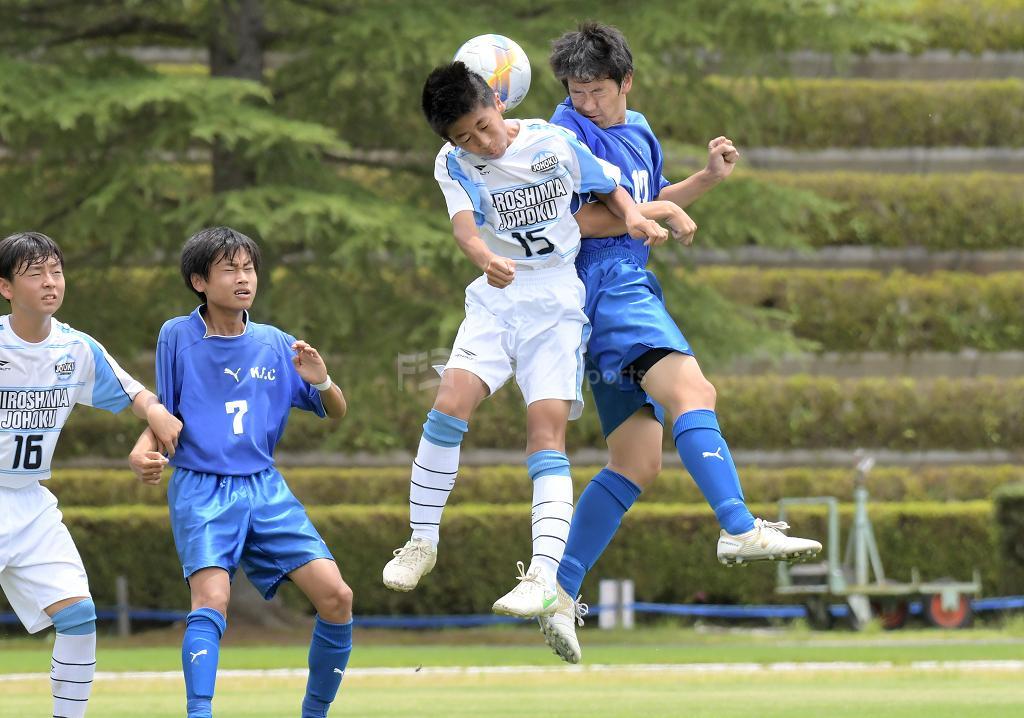 口田中 vs 城北中 (準決勝)広島県中学校サッカー選手権