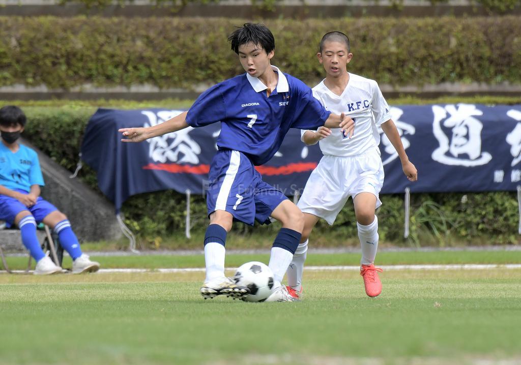 修道中 vs 口田中 (決勝)広島県中学校サッカー選手権
