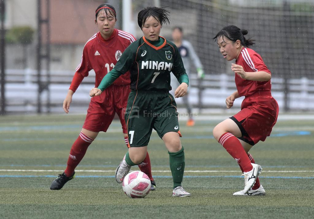 皆実 vs 祇園北 第37回広島県女子サッカー選手権大会