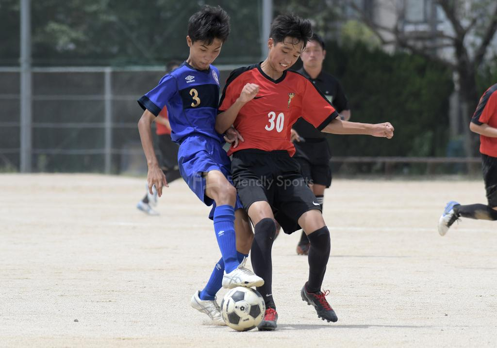 広島市中学校総合体育大会  大会2日目 1回戦が終了する