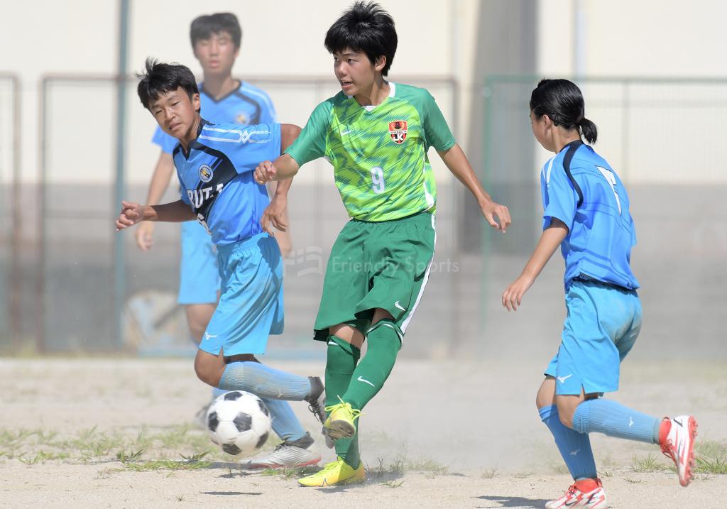 広島市中学校総合体育大会  大会3日目 2回戦が終了する