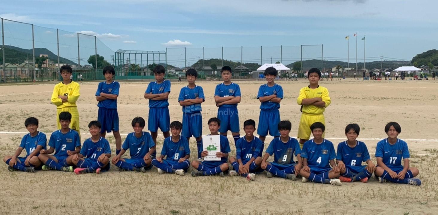 福山市中学校 城南、大門がトーナメント1位を決める。