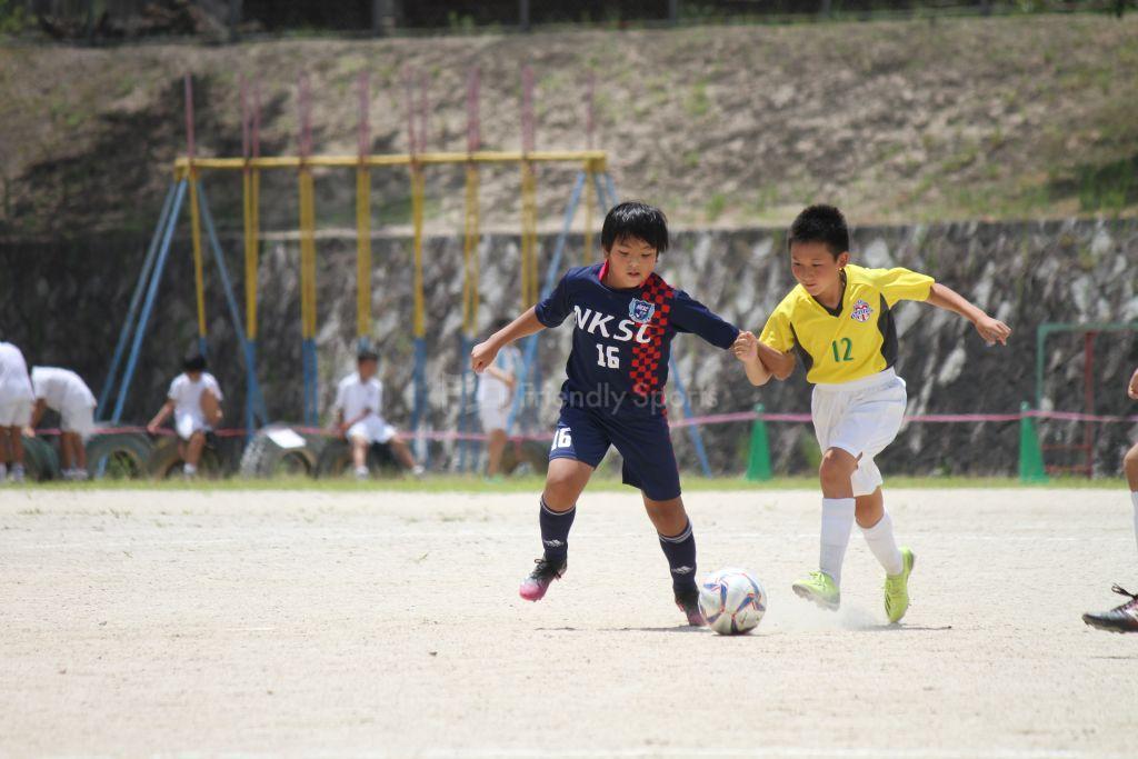NK  vs 三入 試合模様②