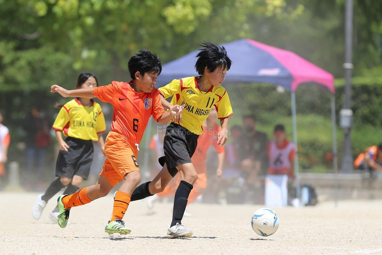 宇品東 VS 五日市東               オータムサッカー大会 広島支部大会