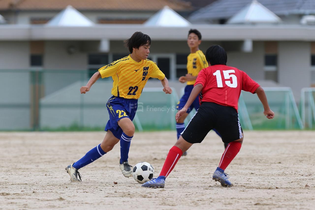 広大附属 - 呉宮原                        U-18サッカーリーグ2021 広島 - 5部リーグ