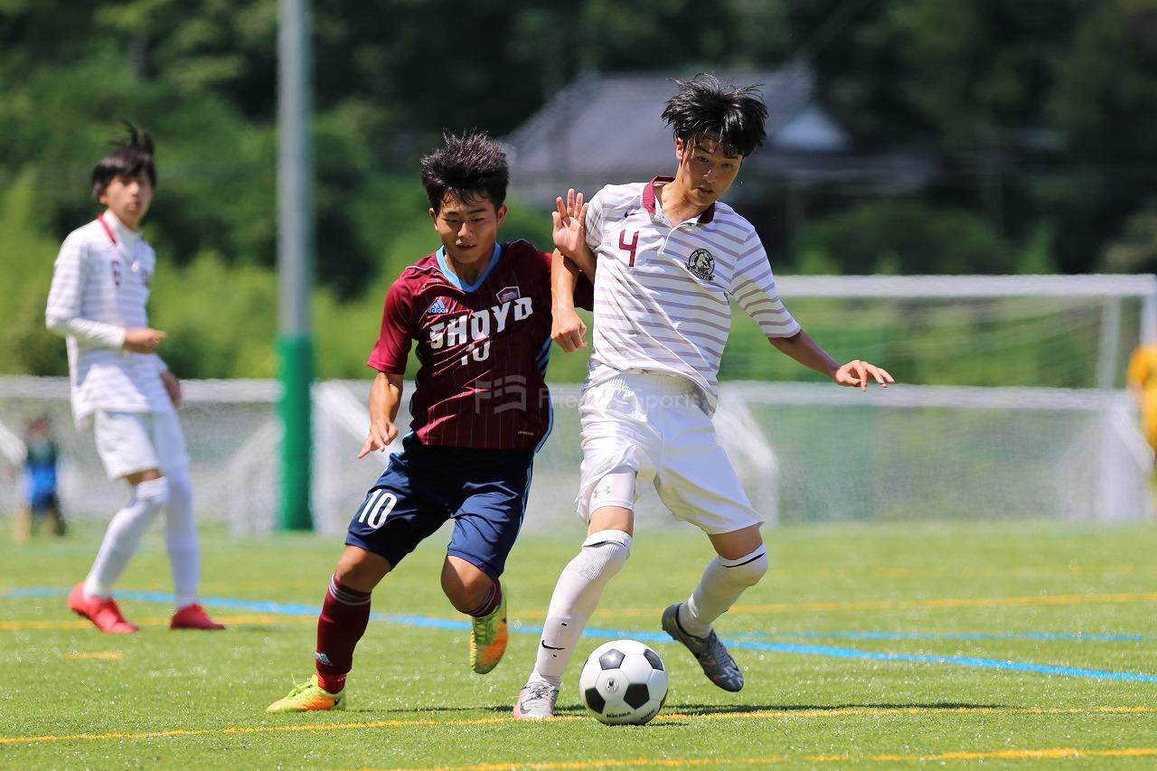 向原・吉田  vs  広島翔洋                                             全国高校サッカー選手権大会 広島県大会