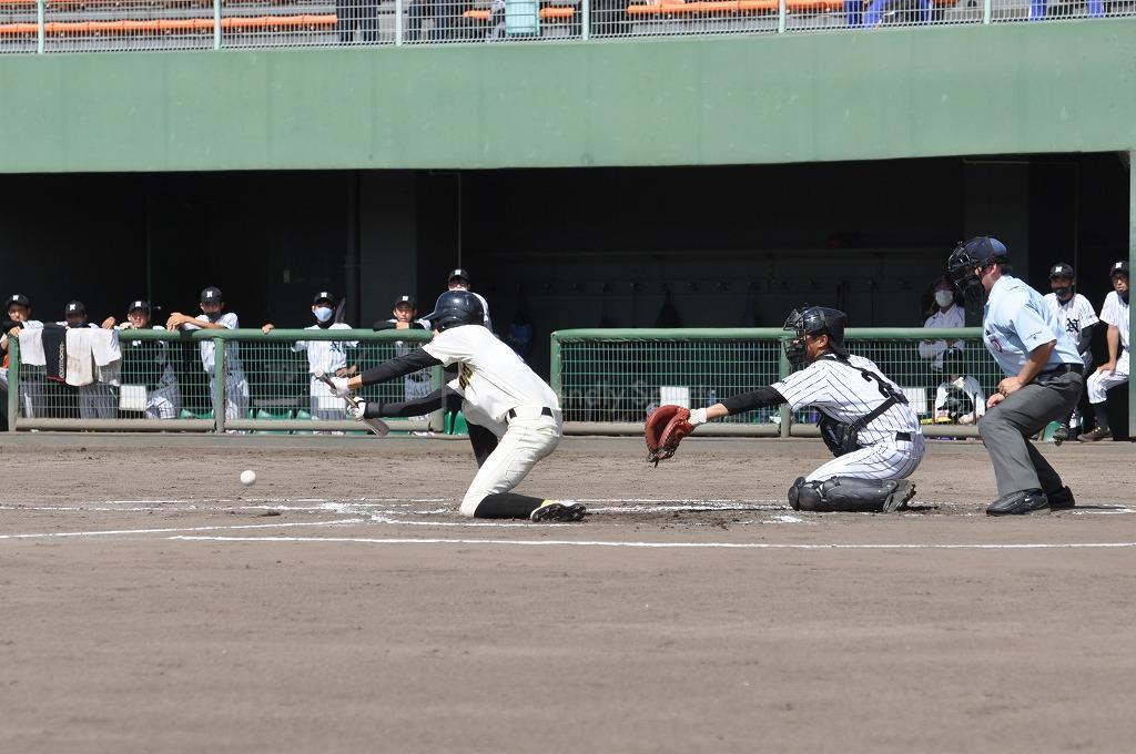 第66回全国高等学校軟式野球選手権 西中国大会 広島なぎさ VS 崇徳!試合模様1!