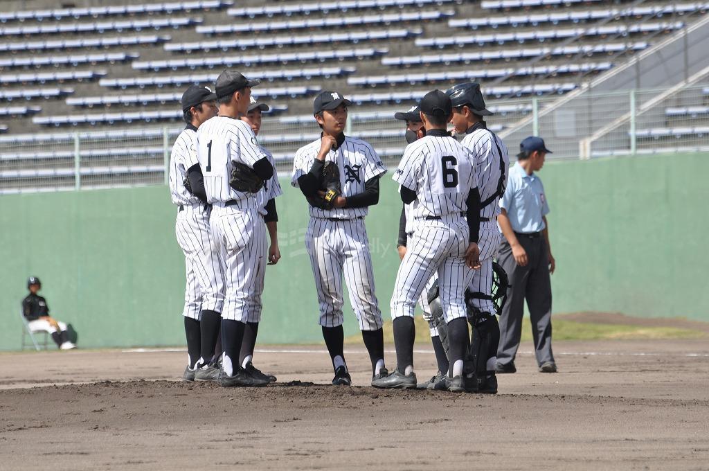 第66回全国高等学校軟式野球選手権 西中国大会 広島なぎさ VS 崇徳!試合模様2!