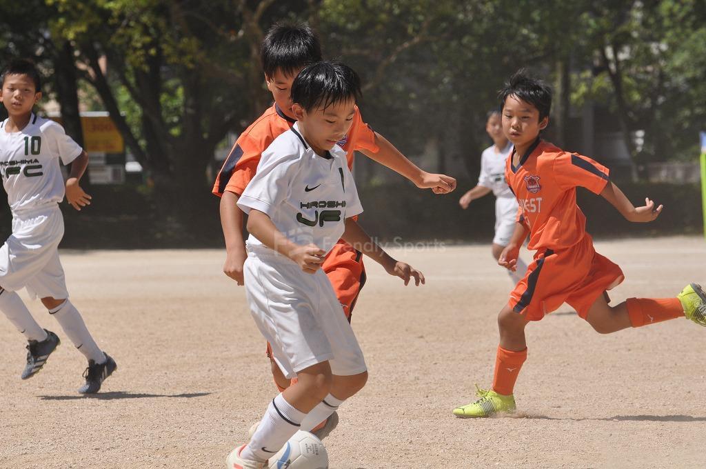 オータムサッカー大会 広島支部予選 本日(8/9)の試合は中止