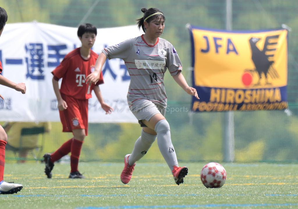 ローザスL vs バイエルンL 広島県女子サッカー選手権大会 兼 皇后杯予選