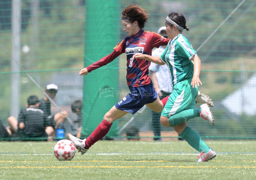 ディアヴォロッソ vs AICJ 広島県女子サッカー選手権大会 兼 皇后杯予選