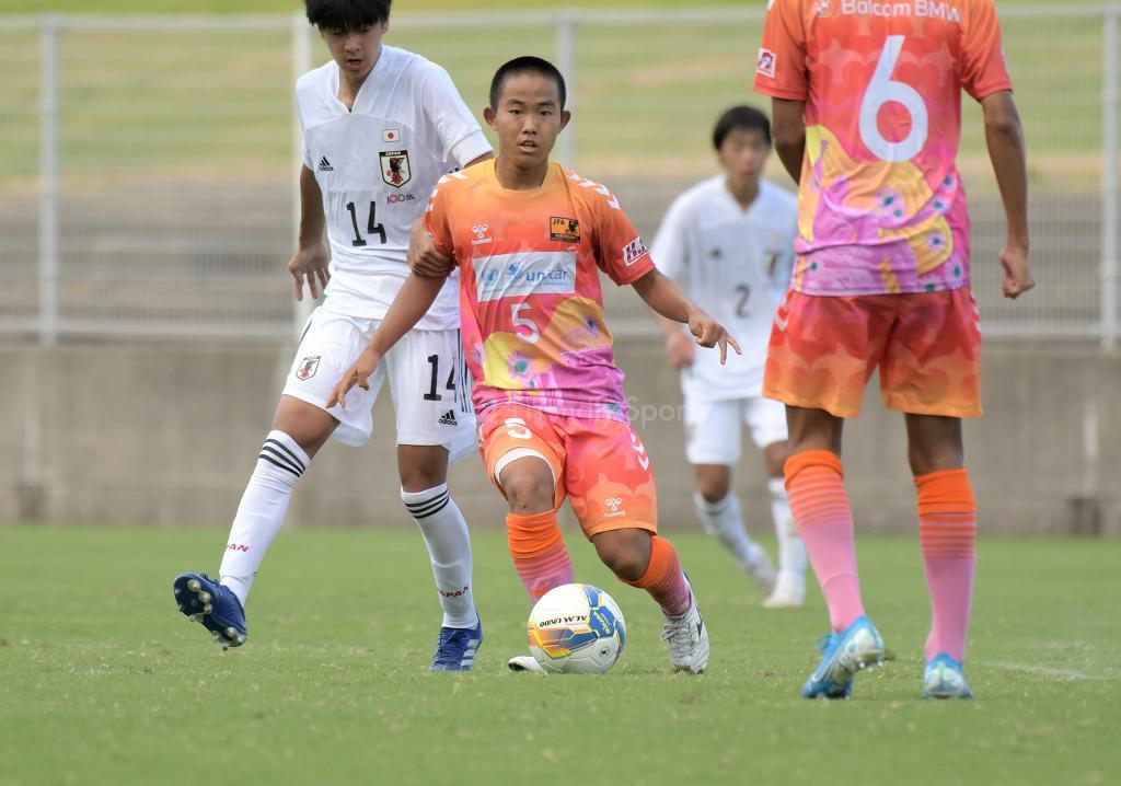 日本代表U17 vs 広島選抜U18 Balcom BMW CUP(男子)