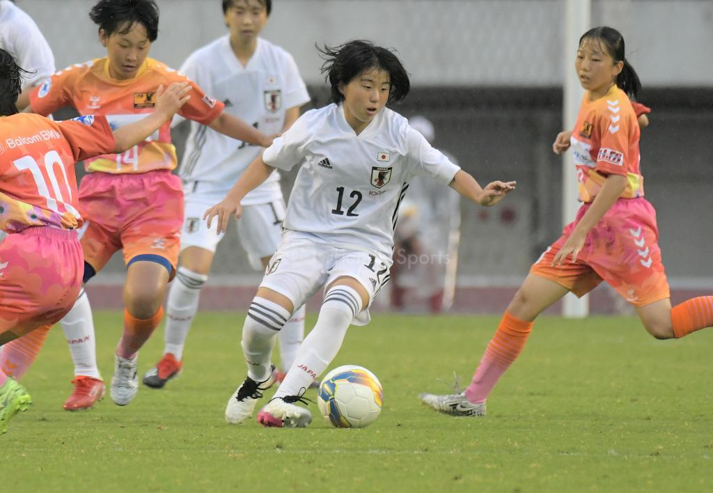 日本代表U15 vs 広島選抜U15 Balcom BMW CUP(女子)