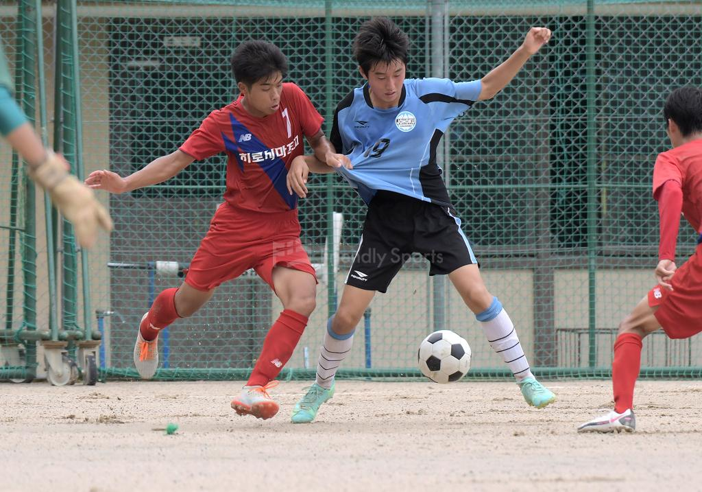 広島朝鮮 vs 城北 高円宮杯U-18(3B)