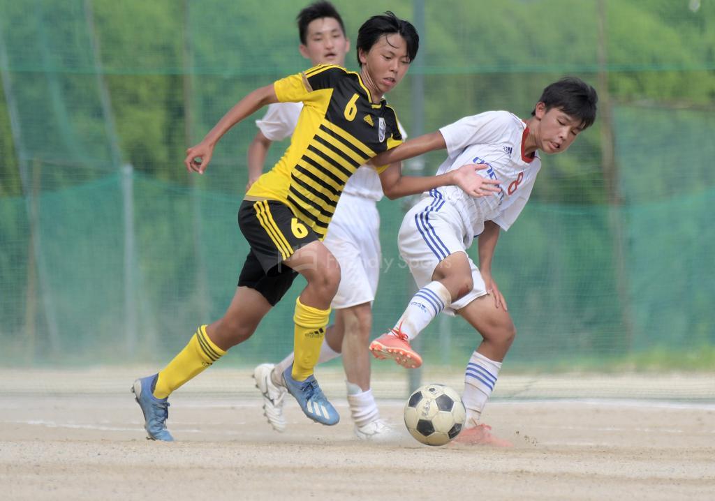尾道北 vs 高陽東 高校サッカー選手権(1回戦)