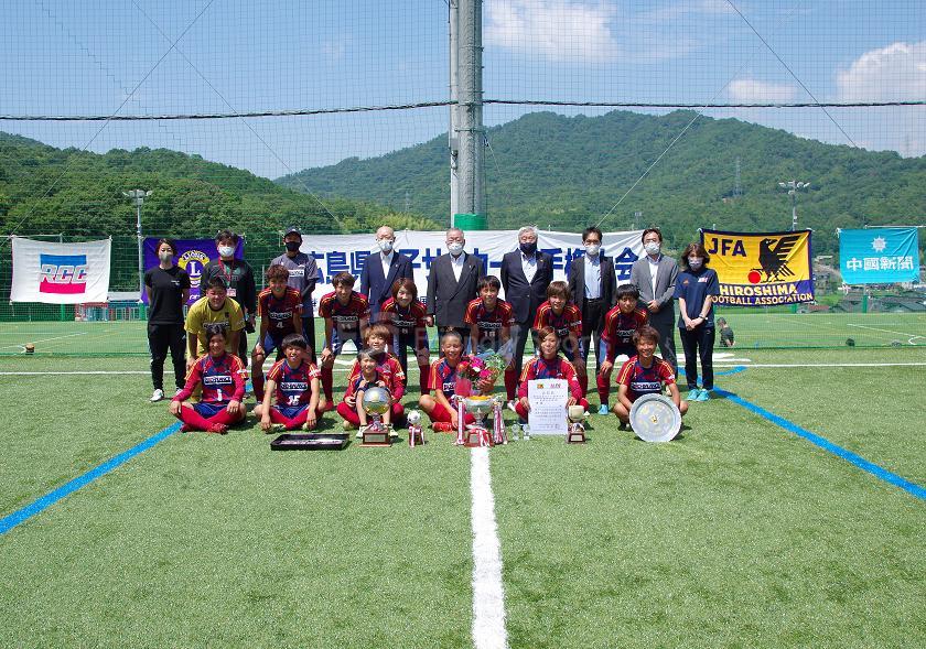 第37回広島県女子サッカー選手権大会 優勝はディアヴォロッソ広島!おめでとう!