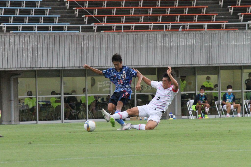 U-17日本代表 vs サガン鳥栖 試合模様