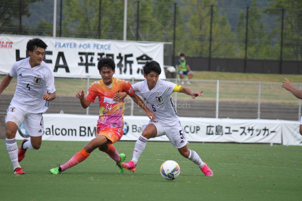 U-17日本代表 vs 広島県高校選抜 試合模様②
