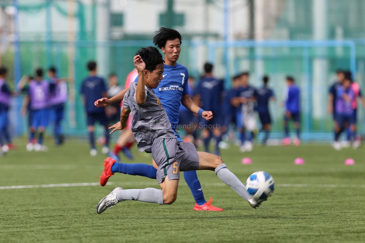 広島国際学院 vs 広島観音                  高円宮杯 JFA U-18サッカーリーグ2021 広島 - 1部