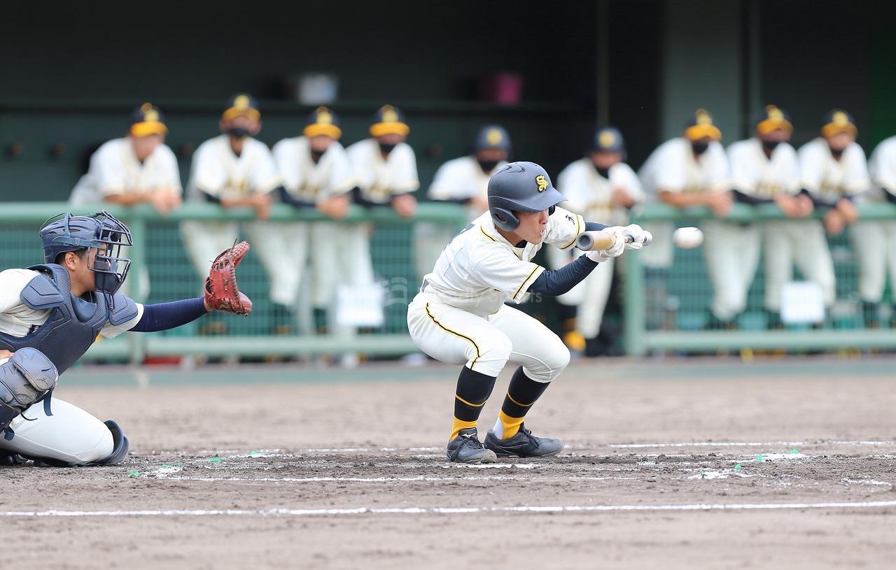 崇徳 vs 尾道商業                秋季高等学校野球大会 広島県大会決勝トーナメント