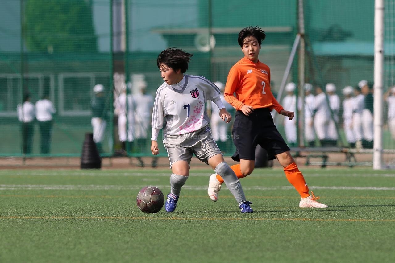 山陽 vs 広陵         高等学校女子サッカー選手権大会広島県予選会