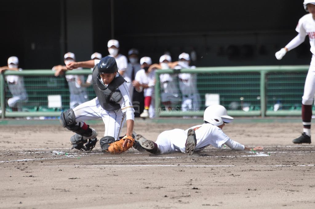 三原 VS 安西 試合模様1!高校野球!