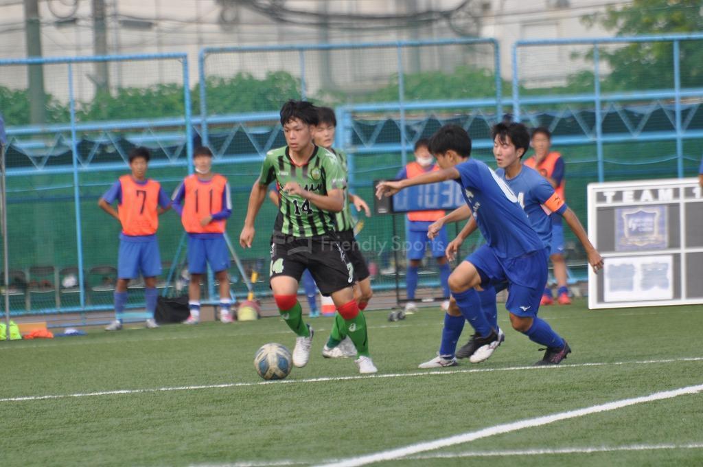 高円宮杯 JFA U-18サッカーリーグ2021 広島1部 皆実B VS 国際学院 試合模様1!