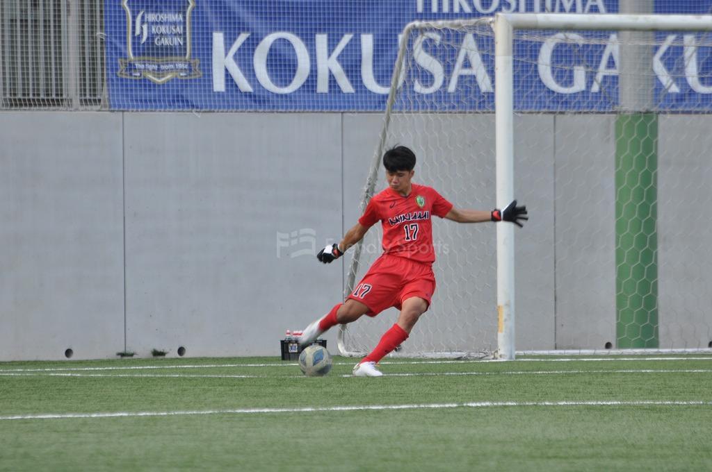 高円宮杯 JFA U-18サッカーリーグ2021 広島1部 皆実B VS 国際学院 試合模様3!