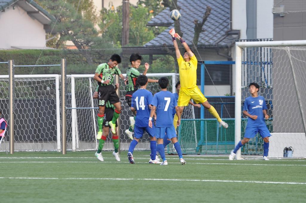 高円宮杯 JFA U-18サッカーリーグ2021 広島1部 皆実B VS 国際学院 試合模様2!