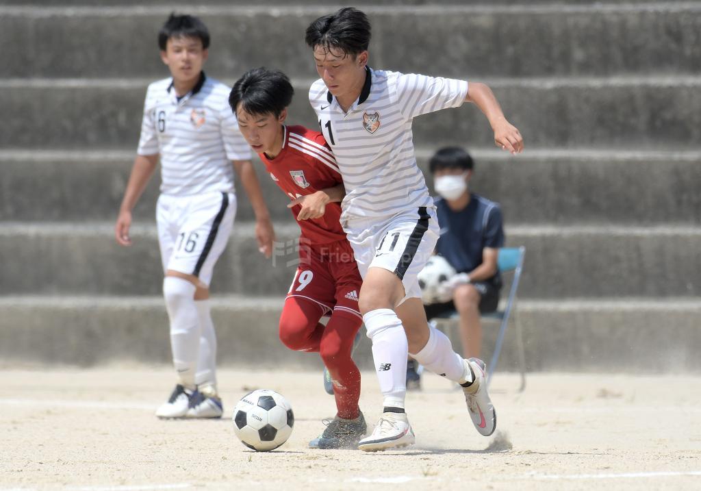 広陵 vs 廿日市 高校サッカー選手権(1回戦)