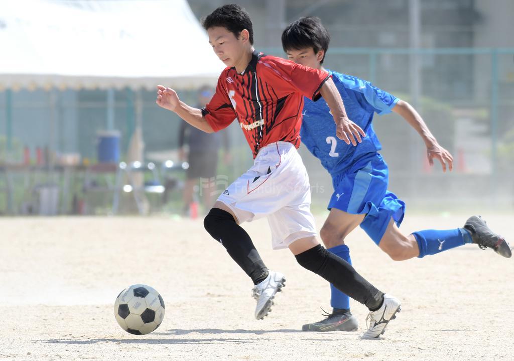 安古市 vs 油木 高校サッカー選手権(1回戦)