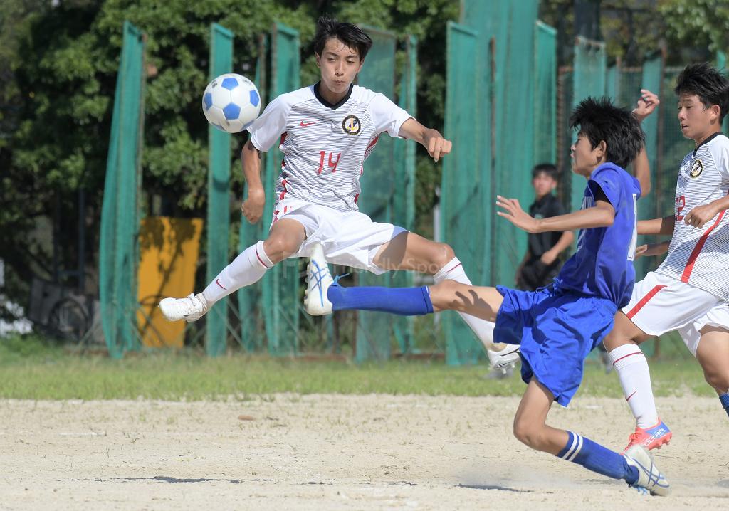 呉港 vs 忠海 高校サッカー選手権(1回戦)