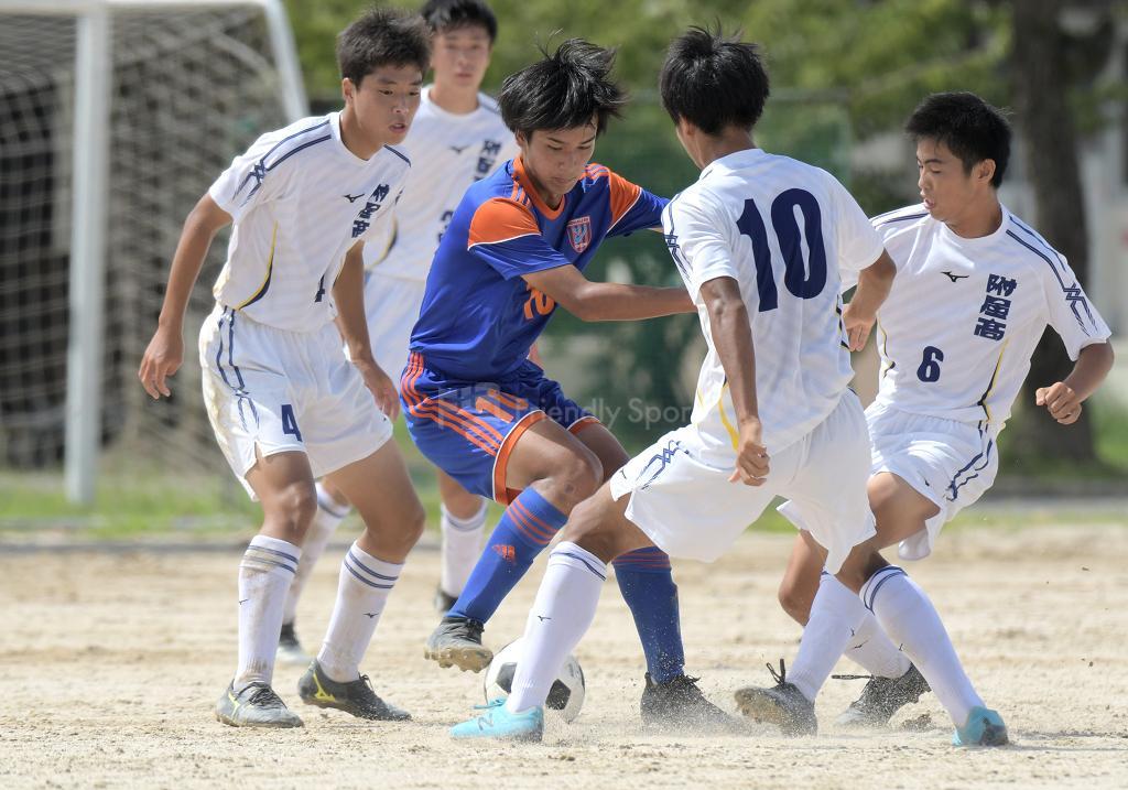 広大附属 vs 銀河学院 高校サッカー選手権(2回戦)