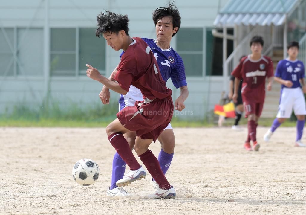 国泰寺 vs 基町 高校サッカー選手権(2回戦)