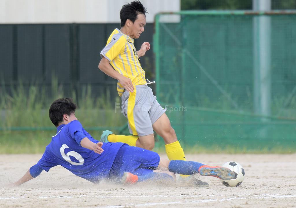市工 vs 松永 高校サッカー選手権(1回戦)