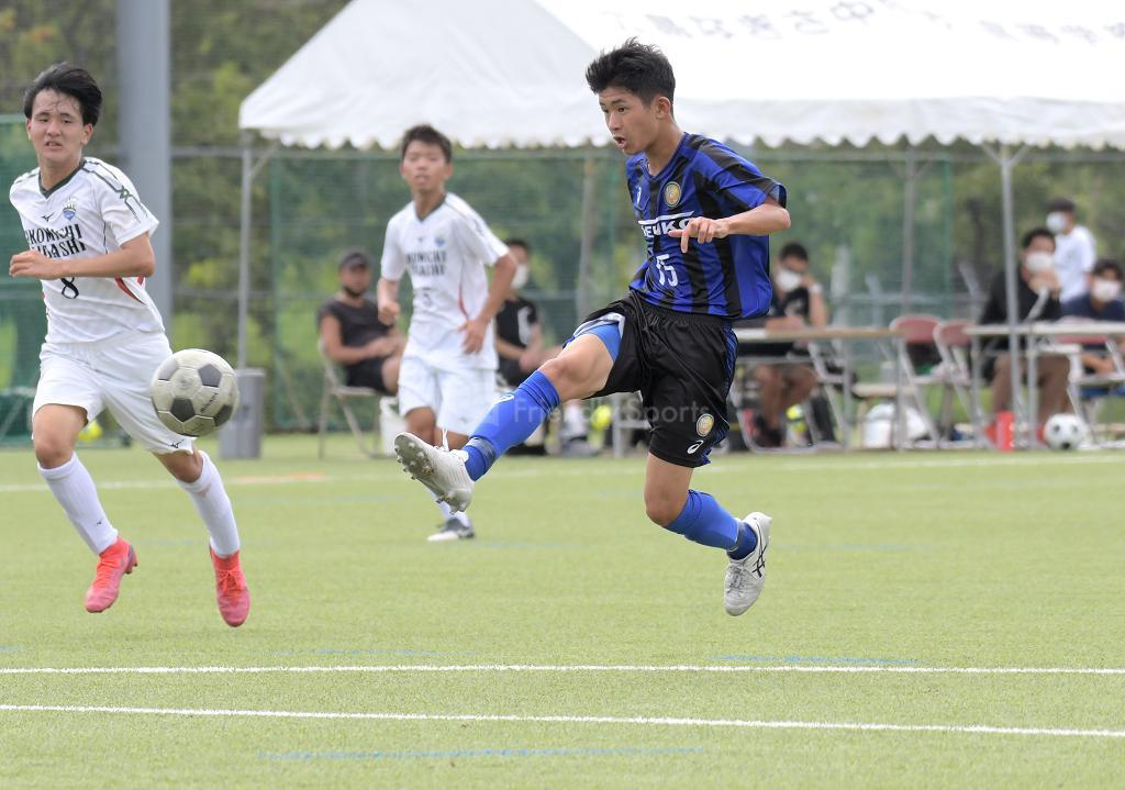 県工 vs 尾道東 高校サッカー選手権(決定戦)