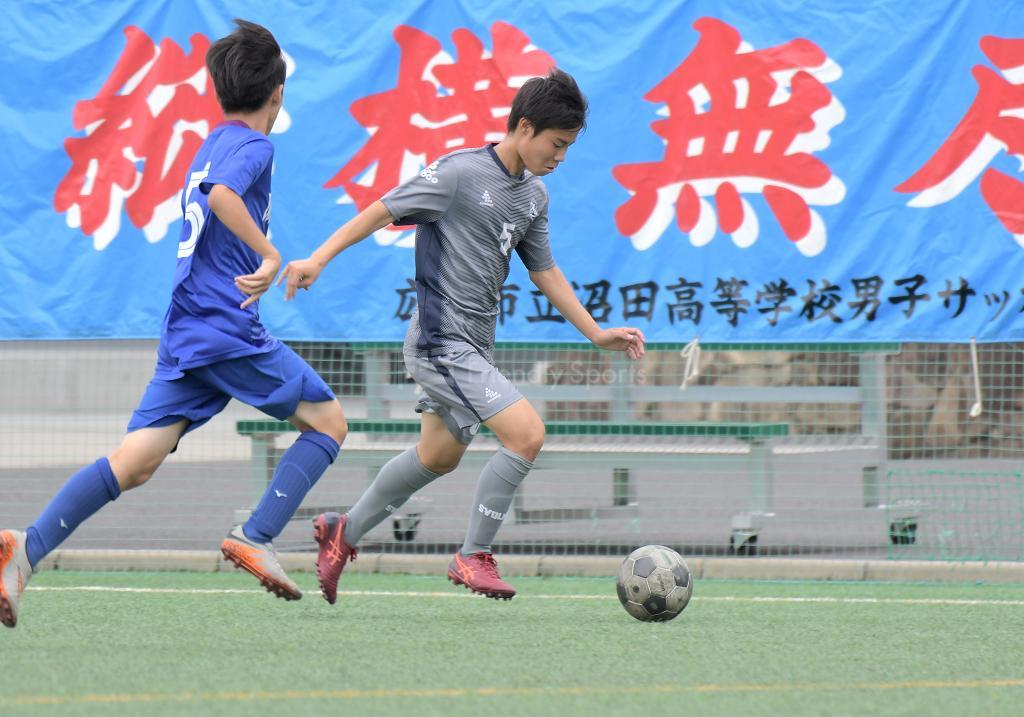 沼田 vs 明王台 高校サッカー選手権(決定戦)