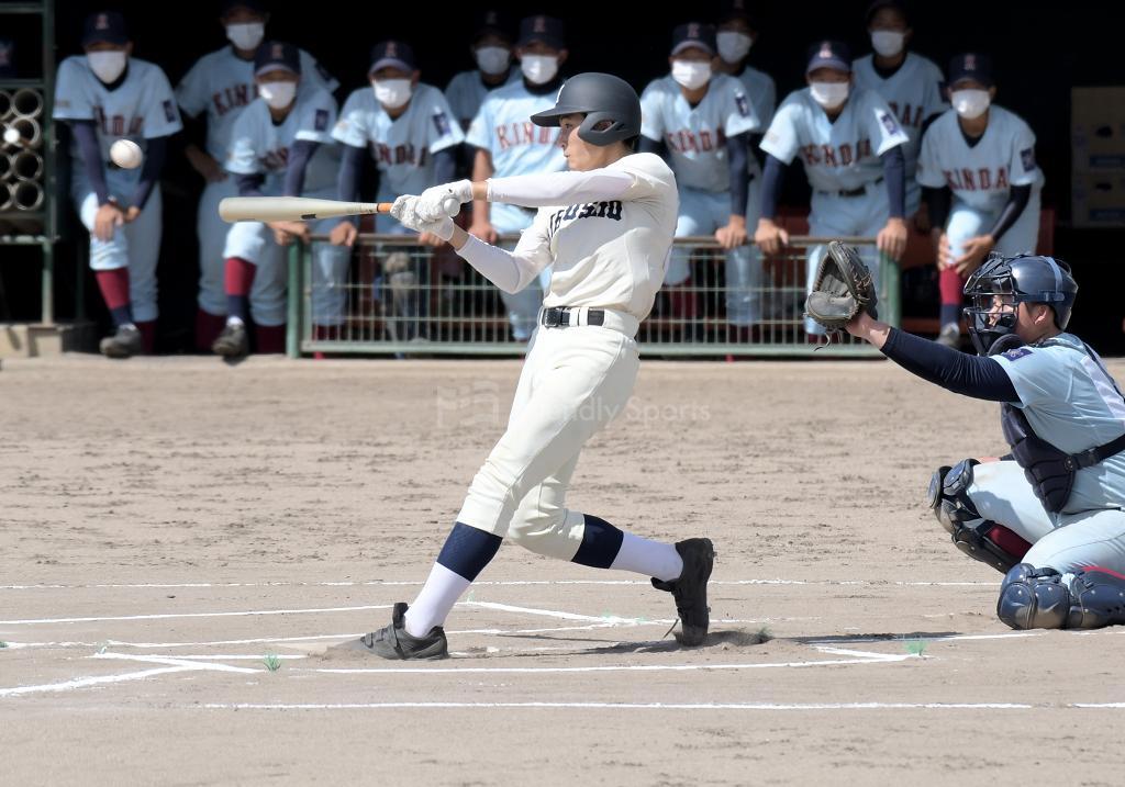 広島商業 vs 近大福山 秋季高校野球大会 広島県大会 (2回戦)