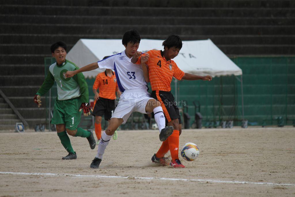 安古市 vs 広陵 試合模様①(4部リーグB)