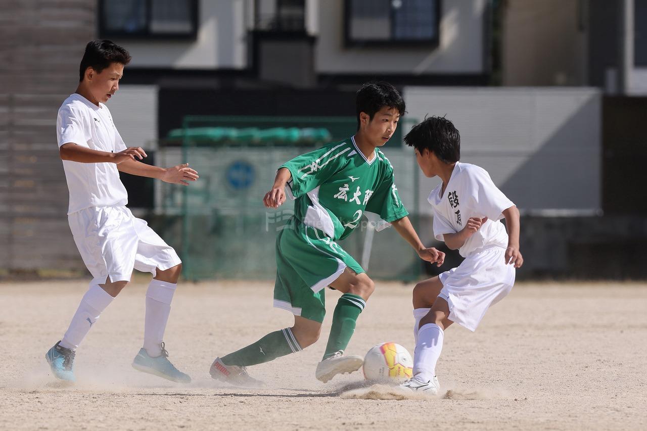 令和3年度 広島市中学校新人サッカー大会 大会6日目