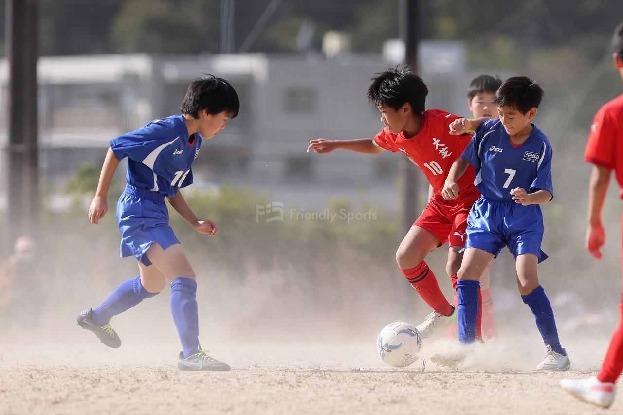 大芝  vs  倉掛   Uー12サッカー選手権大会