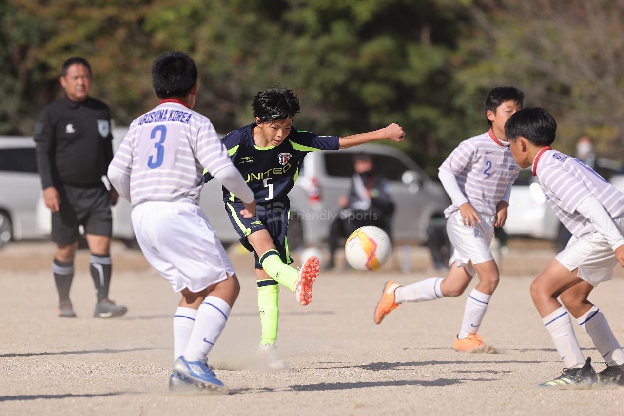 ユナイテッド 9 - 0 朝鮮 ②        Uー12サッカー選手権大会