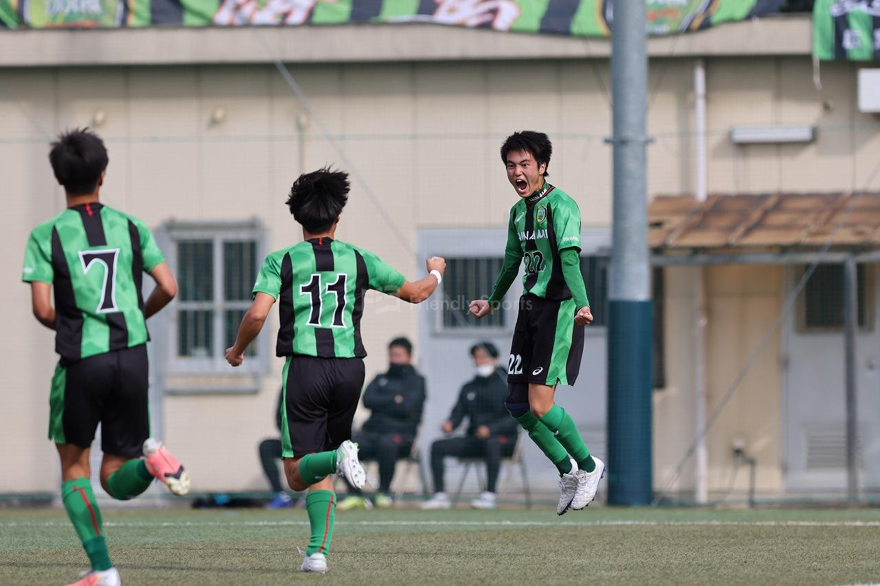 広島皆実 vs 山陽 ①               高校サッカー選手権大会